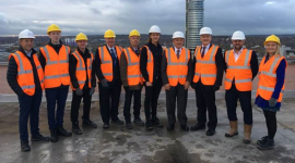 Apprentice Meets Minister at Launch of HS2 Northern Route