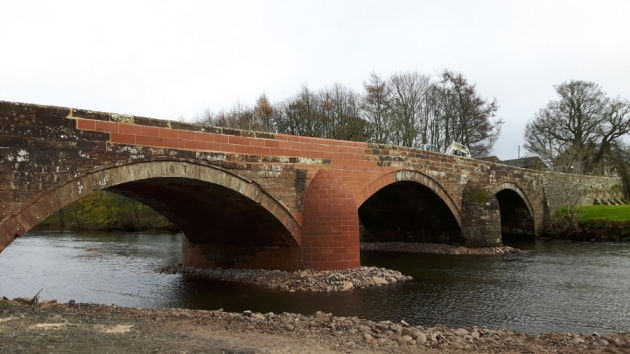 Brougham Castle Bridge Restoration